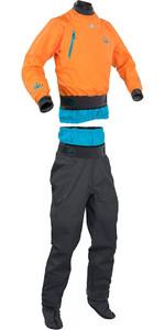 Palm Atom Dry Cag 11436 & Trouser 11742 Combi Set Sherbet / Grey