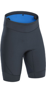 2021 Palm Blaze 3mm Neoprene Shorts Jet Grey 12234