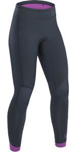 2020 Palm Blaze Womens 3mm GBS Wetsuit Trousers Jet Grey 12233