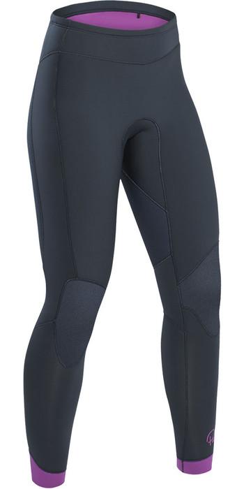 2021 Palm Blaze Womens 3mm GBS Wetsuit Trousers Jet Grey 12233