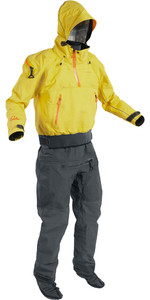 2021 Palm Mens Bora Touring Kayak Drysuit Yellow / Jet Grey 12382