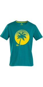 2021 Palm Mens Sunset T-Shirt 12593 - Teal