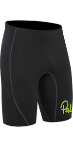 2021 Palm Quantum 3mm Neoprene Shorts Black 12240