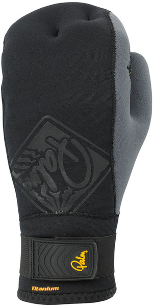 2018 Palm Talon 2mm Open Palm Mitts - Black 10502