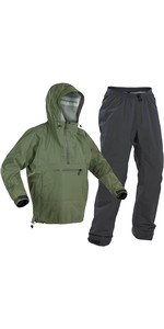 2020 Palm Mens Vantage Kayak Jacket & Vector Trouser Combi Set - Olive / Grey