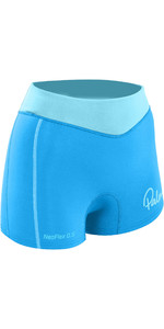 2019 Palm Womens 0.5mm NeoFlex Shorts Aqua 12191