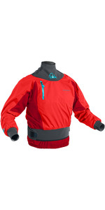 2021 Palm Womens Zenith Whitewater Jacket Flame Red 12390