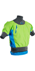 2021 Palm Zenith Whitewater Short Sleeve Kayak Jacket Lime Ocean 12391