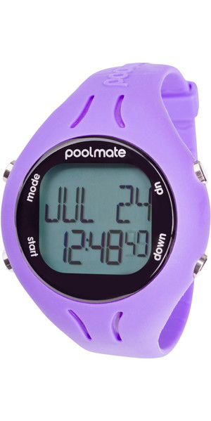 2018 Swimovate PoolMate2 Swim Watch PURPLE