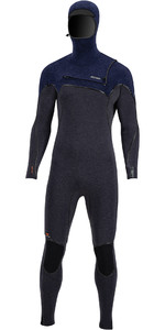 2020 Prolimit Mens Mercury 6/4mm Hooded TR Free-X Zip Wetsuit 14000 - Black /Blue