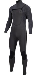 2020 Prolimit Mens Predator 5/3mm Free Zip Wetsuit 13575 - Slate Black