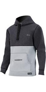 2020 Prolimit Mens Wetsuit Hoody Mercury 05052 - Black / Grey