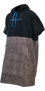 2021 Prolimit Poncho Change Robe 76350 - Black / Grey / Blue