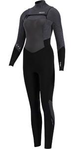 2020 Prolimit Womens Flare 5/3mm Free Zip Wetsuit 15057 - Black / Ivory