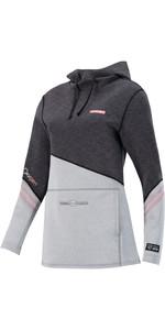 2021 Prolimit Womens Oxygen Wetsuit Hoody 05055 - Black / Grey