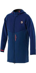 Prolimit Double Lined Racer Jacket in Dark Blue / Orange 05021