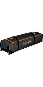 2020 Prolimit Kitesurf Golf Aero Wheeled Board Bag 3345 - Black / Orange
