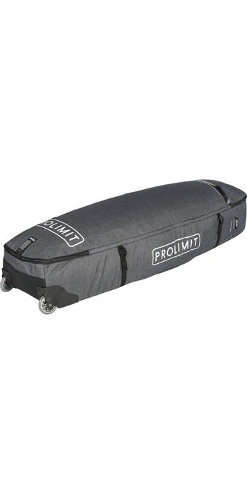 2021 Prolimit Kitesurf Traveller Wheeled Board Bag 03370 - Grey / White