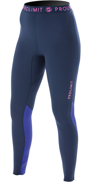 Prolimit Ladies SUP 1mm Airmax Neoprene Trousers Blue / Pink 74750