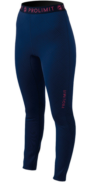 Prolimit Ladies SUP Athletic Quick Dry Trousers Blue / Pink 74760