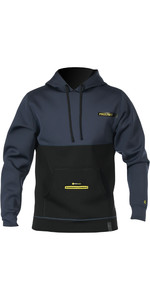 2020 Prolimit Mens Loosefit Neoprene Hoody Slate / Yellow 05052