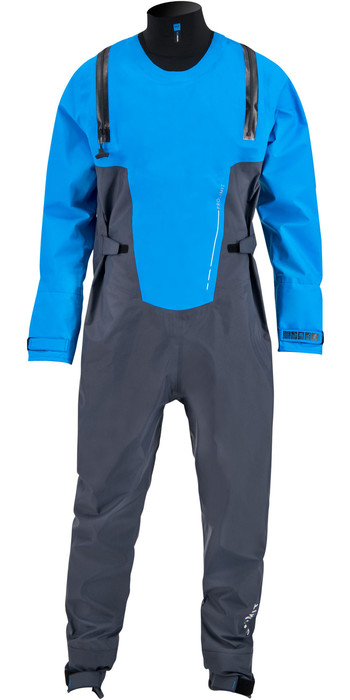 2020 Prolimit Mens Nordic SUP U-Zip Drysuit 90025 - Steel Blue