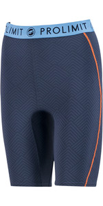 2020 Prolimit Womens 2mm Airmax Neoprene SUP Shorts 84780 - Slate Black / Blue / Orange