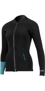 2021 Prolimit Womens Fire 2mm Wetsuit Top 70910 - Black