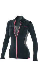 Prolimit Womens Loosefit Convertible SUP Top Black / Pink 84705