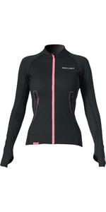 2020 Prolimit Womens Loosefit Quick Dry SUP Top Black / Pink 84700