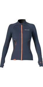 2020 Prolimit Womens Loosefit Quick Dry SUP Top Slate / Orange  84700