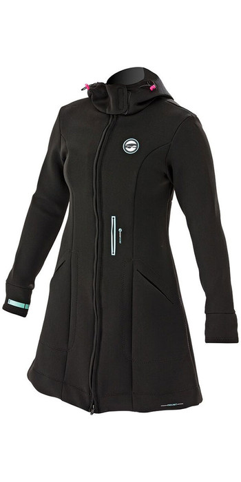 2020 Prolimit Womens Pure Girl Racer Jacket Black / Blue 05041