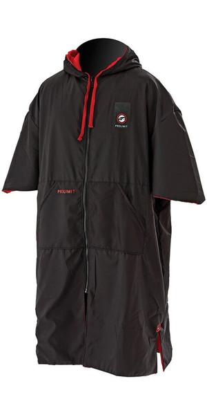 2018 Prolimit Zipper Poncho Xtreme Black / Red 76360
