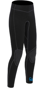 2020 Palm Womens Quantum 3mm Flatlock Wetsuit Trousers Black 12239