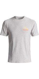 Quiksilver Heritage UV50 Surf Tee SILVER EQYWR03092