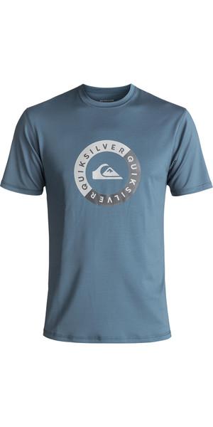 2018 Quiksilver Scrypto Short Sleeve Surf Tee UV50 SLATE EQYWR03086