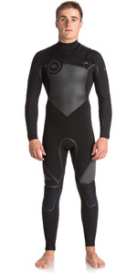 Quiksilver Syncro Plus 5/4/3mm Chest Zip GBS Wetsuit JET BLACK EQYW103046