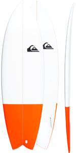 Quiksilver Euroglass Surfboard Batboard 6'2
