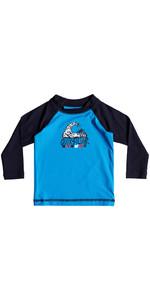 Quiksilver Infant Bubble Dream Long Sleeve Rash Vest BLUE EQIWR03013