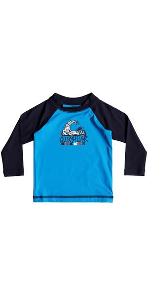 2018 Quiksilver Infant Bubble Dream Long Sleeve Rash Vest BLUE EQIWR03013
