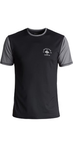 Quiksilver Color Blocked Short Sleeve Surf Tee BLACK EQYWR03089