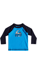 Quiksilver Infant Bubble Dream Long Sleeve Rash Vest BLUE EQIWR03013