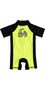 Quiksilver Infant Bubble Spring Rash Suit SAFETY YELLOW EQIWR03011
