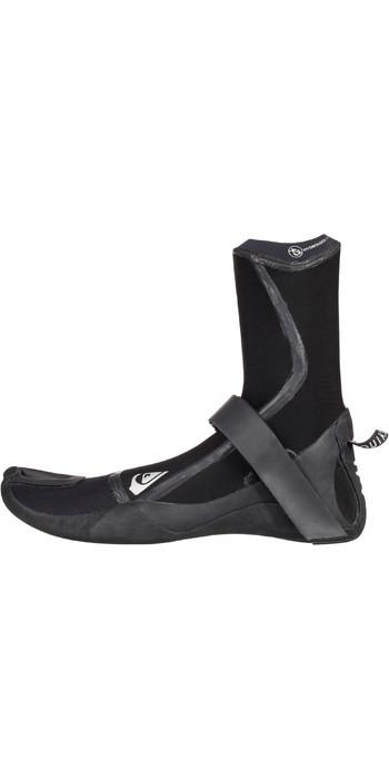 2020 Quiksilver Highline Plus 5mm Split Toe Boots Black EQYWW03038