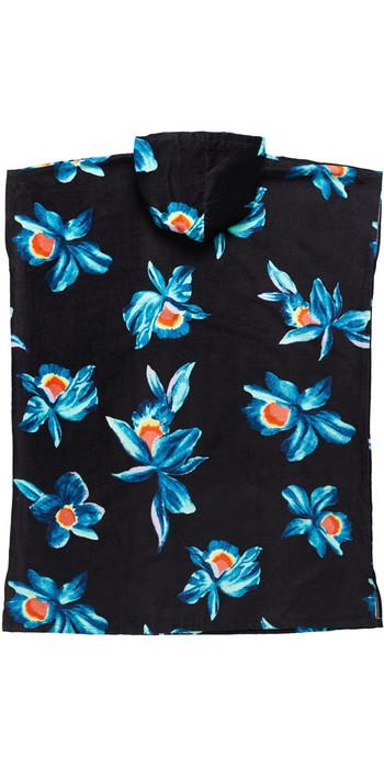 2021 Quiksilver Hooded Towel AQYAA03233 - Fjord Blue