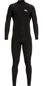 2019 Quiksilver Mens Highline 3/2mm Zipperless Wetsuit Black EQYW103062