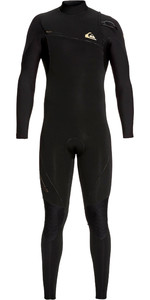 2019 Quiksilver Mens Highline 4/3mm Zipperless Wetsuit Black EQYW103061