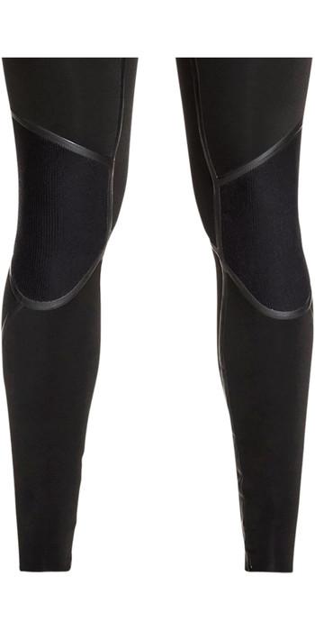 2021 Quiksilver Mens Syncro Plus 4/3mm Chest Zip Wetsuit Black EQYW103082