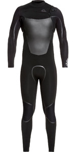 2019 Quiksilver Mens Syncro Plus 5/4/3mm Chest Zip Wetsuit Black EQYW103083