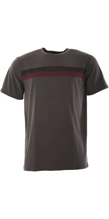 2020 Quiksilver Mens Omni Rave Seasons Short Sleeve Surf Shirt EQYWR03260 - Tarmac